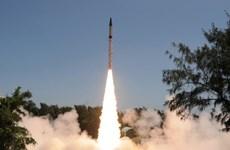 Ấn Độ thử thành công tên lửa mang đầu đạn hạt nhân
