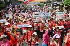 """Người biểu tình Thái Lan tuyên bố """"tiếp tục chiến đấu"""""""
