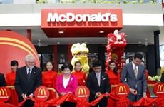 Khánh thành Nhà hàng McDonald's đầu tiên tại Việt Nam