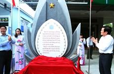 Khánh thành Bia lưu niệm cụ Nguyễn Sinh Sắc tại Đồng Tháp