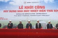 Phát lệnh khởi công Nhà máy Nhiệt điện Thái Bình