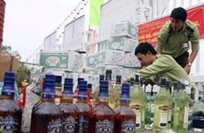 Lào Cai: Tiêu hủy hàng lậu trị giá lên đến hơn 1 tỷ đồng