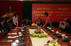 Tỉnh Hòa Bình tăng hợp tác với tỉnh Hua Phan của Lào