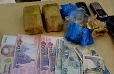 Bắt giữ nhóm đối tượng mua bán, vận chuyển ma túy