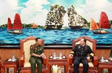 Giám đốc Học viện Quốc phòng Brunei thăm Việt Nam