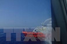 Tàu cá bị kiểm ngư Trung Quốc hành hung đã về đến đất liền