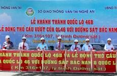 Nghệ An khánh thành Quốc lộ 46B và động thổ cầu vượt 46