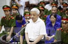 Bị cáo Nguyễn Đức Kiên cùng 8 đồng phạm ra hầu tòa