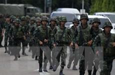 Quân đội Thái Lan tuyên bố tạm thời đình chỉ hiến pháp