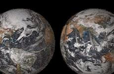 """NASA giới thiệu bức ảnh """"selfie"""" khổng lồ của Trái Đất"""