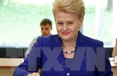 """""""Bà đầm thép"""" Dalia Grybauskaite tái đắc cử Tổng thống Litva"""