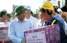 Kiểm tra việc cải tạo, nâng cấp Quốc lộ 1 trên địa bàn Quảng Ngãi
