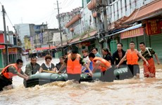 Nhiều tỉnh thành của Trung Quốc bị thiệt hại do mưa lớn