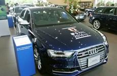 Audi giới thiệu mẫu xe World Cup sơn màu đội bóng Nhật Bản