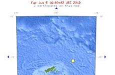 Động đất 6,8 độ Richter ở quần đảo Wallis và Futuna