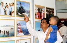 TP. Hồ Chí Minh và Quảng Bình tổ chức triển lãm về biển đảo
