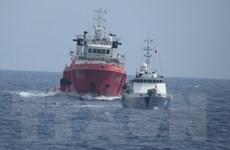 Trung Quốc dịch chuyển giàn khoan dò dầu khí bất hợp pháp