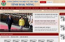 Khai trương Cổng thông tin thư viện điện tử tỉnh Đắk Nông