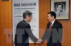 Đoàn cấp cao Ban Kinh tế Trung ương làm việc tại Nhật Bản