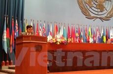 Việt Nam kêu gọi tự do, an toàn hàng hải tại khóa họp ESCAP