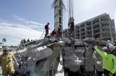 Sập công trình xây dựng tại Thái Lan làm 16 người thiệt mạng