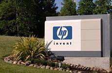 Doanh thu của tập đoàn HP tăng lần đầu tiên trong ba năm