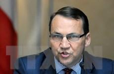 Ngoại trưởng R.Sikorski: Ba Lan cần xem xét lại quan hệ với Nga