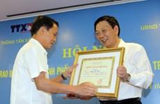 UBND thành phố Hà Nội và TTXVN tăng cường phối hợp công tác