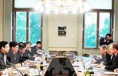 Đoàn đại biểu Quốc hội Việt Nam thăm và làm việc tại Áo