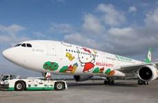 Trải nghiệm chuyến bay đáng yêu Hello Kitty với hãng Eva Air