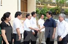 Thủ tướng Nguyễn Tấn Dũng làm việc với lãnh đạo tỉnh Yên Bái