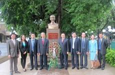 Đoàn đại biểu Đảng CS Việt Nam dự Hội nghị lần thứ 8 ICAPP