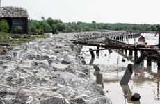 Cửa biển Khánh Hội tại Cà Mau ngày càng sạt lở nghiêm trọng