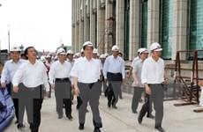 Thủ tướng kiểm tra tiến độ thi công công trình Nhà Quốc hội