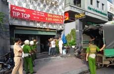 Triệt phá quán karaoke trá hình tại Thành phố Hồ Chí Minh