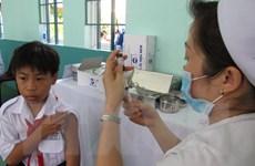 Đã có hơn 757.000 trẻ được tiêm miễn phí vắcxin sởi-rubella