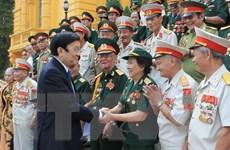 Chủ tịch nước gặp cựu chiến binh lực lượng vũ trang tinh nhuệ 3 miền