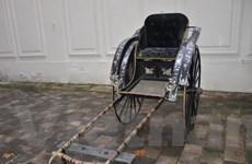 Xe kéo của mẹ Vua Thành Thái về Việt Nam với giá 55.800 euro