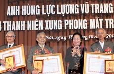 Phong tặng, truy tặng 5 cựu Thanh niên xung phong danh hiệu Anh hùng