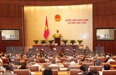 Kỳ họp thứ 8, Quốc hội khóa XIII: Trình Quốc hội 3 dự án luật
