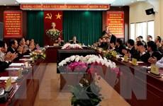 Đoàn công tác Tiểu ban Văn kiện Đại hội XII làm việc tại Lâm Đồng