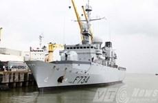 Tàu Hải quân Pháp Vendémiaire thăm hữu nghị thành phố Đà Nẵng