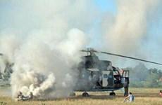 Rơi trực thăng quân sự ở Romania, 8 người thiệt mạng