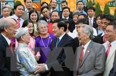 Chủ tịch nước tiếp Đoàn đại biểu nghệ nhân làng nghề Việt Nam