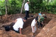 Khai quật di chỉ khảo cổ học hậu đá mới ở Thạch Lạc - Hà Tĩnh