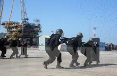Bà Rịa-Vũng Tàu: Diễn tập chống khủng bố, bảo đảm an ninh hàng hải