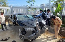 Tạm giam Thượng úy Cảnh sát gây tai nạn làm 2 người chết