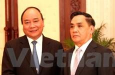 Phó Thủ tướng Nguyễn Xuân Phúc bắt đầu chuyến thăm làm việc tại Lào