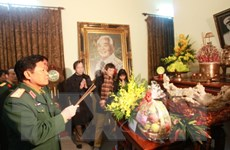 Đoàn Tổng cục Chính trị dâng hương tưởng nhớ các vị Đại tướng