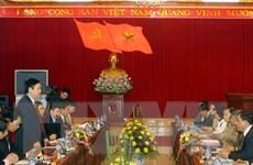 Đoàn công tác Ban Kinh tế Trung ương làm việc tại tỉnh Yên Bái